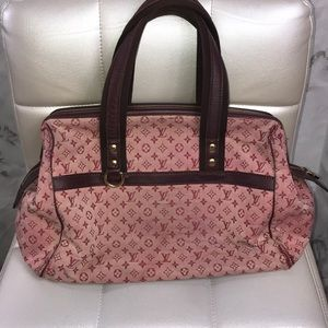 Louis Vuitton cherry red monogram purse josephine